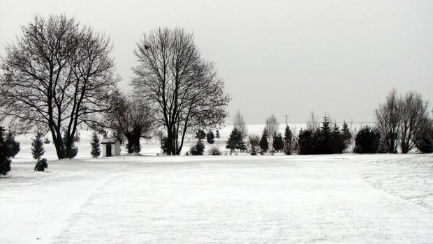 """<a href=""""http://golf-olszewka.pl/wp-content/uploads/2012/12/20121210-zima.jpg""""></a> W tym roku zima przyszła wcześniej, śnieg przykrył pole i pogrzebał nadzieję na grudniowe granie."""