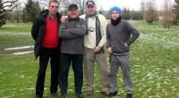 Trzech naszych golfistów postanowiło zacząć rok 2015 z kijem w ręku.